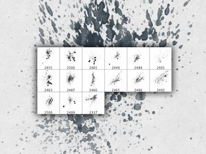 Ink Squirt Brushes 2