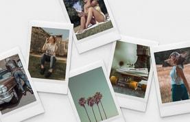 Polaroid Instant Photo Collage Mockups