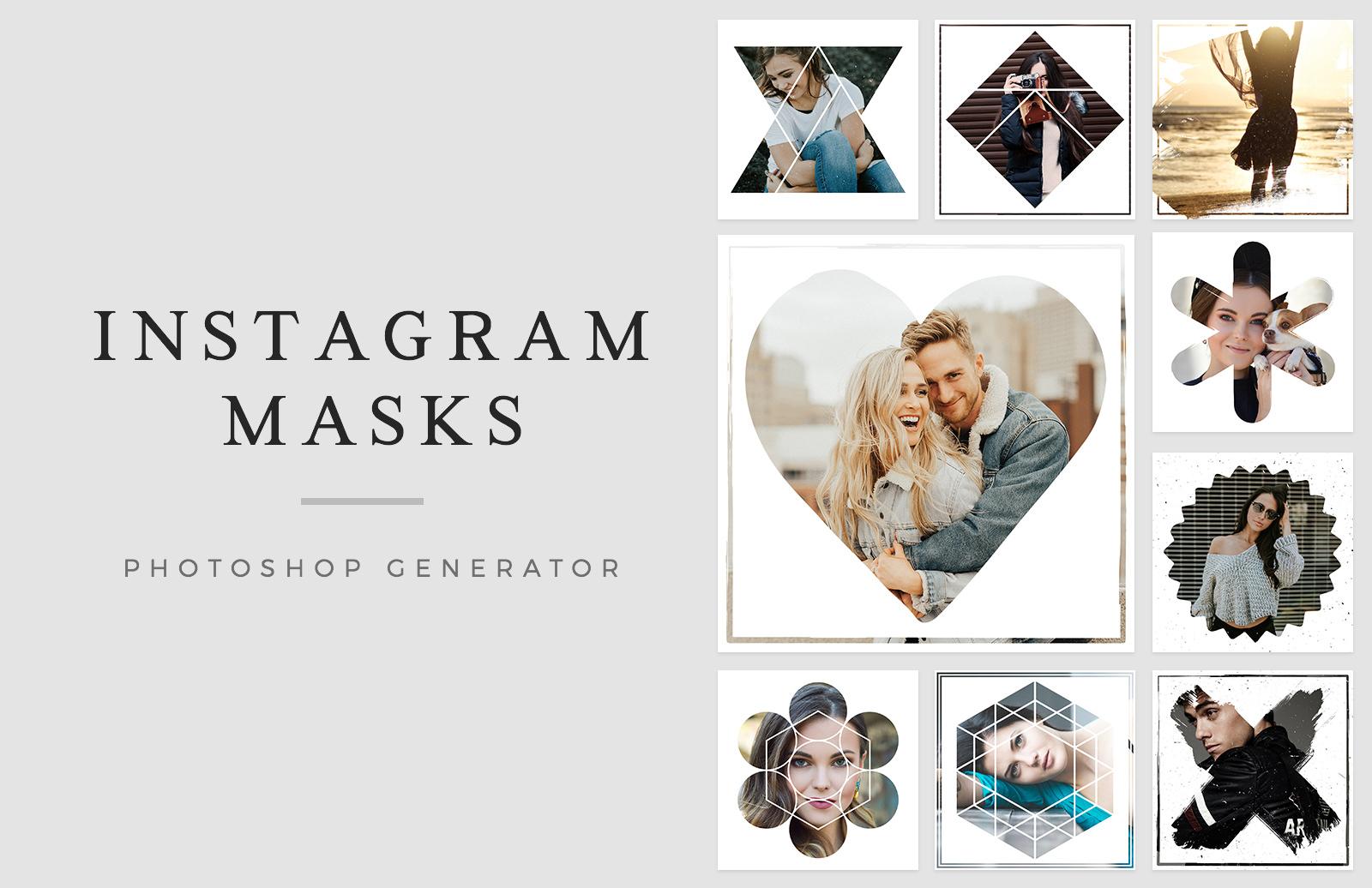 Instagram Masks Photoshop Generator Preview 1