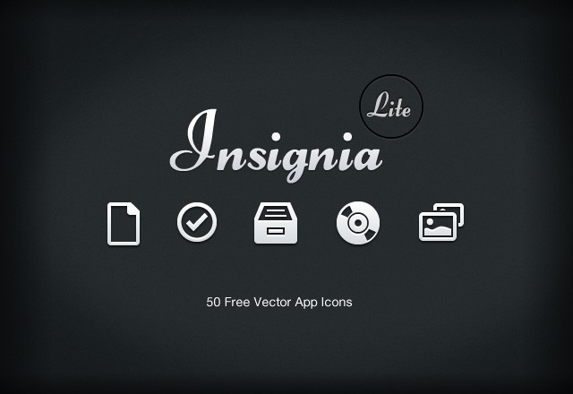 Insignia  Lite  Vector  Icons  Preview1