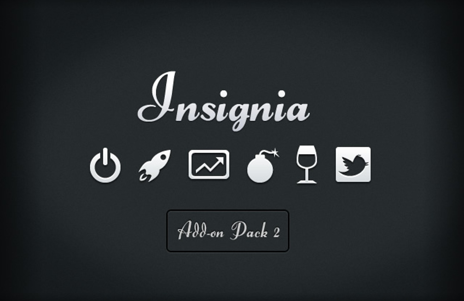 Insignia  Vector  Icons  Add On2  Preview1