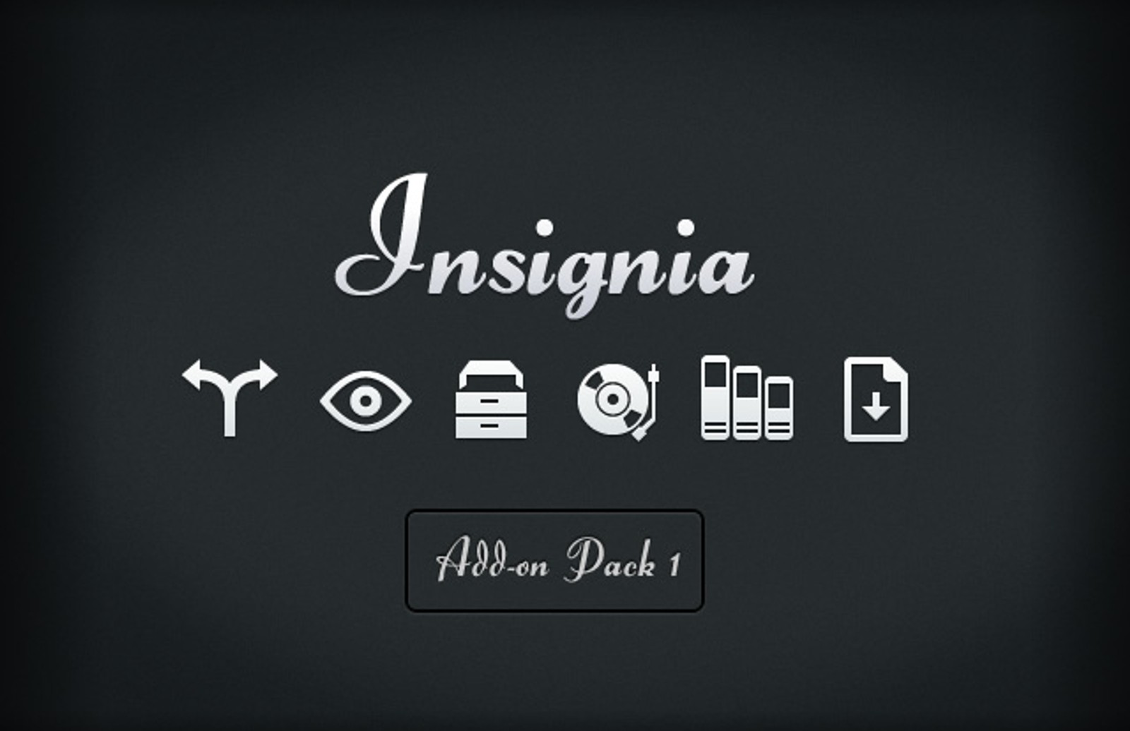 Insignia  Vector  Icons  Add On 1  Preview1