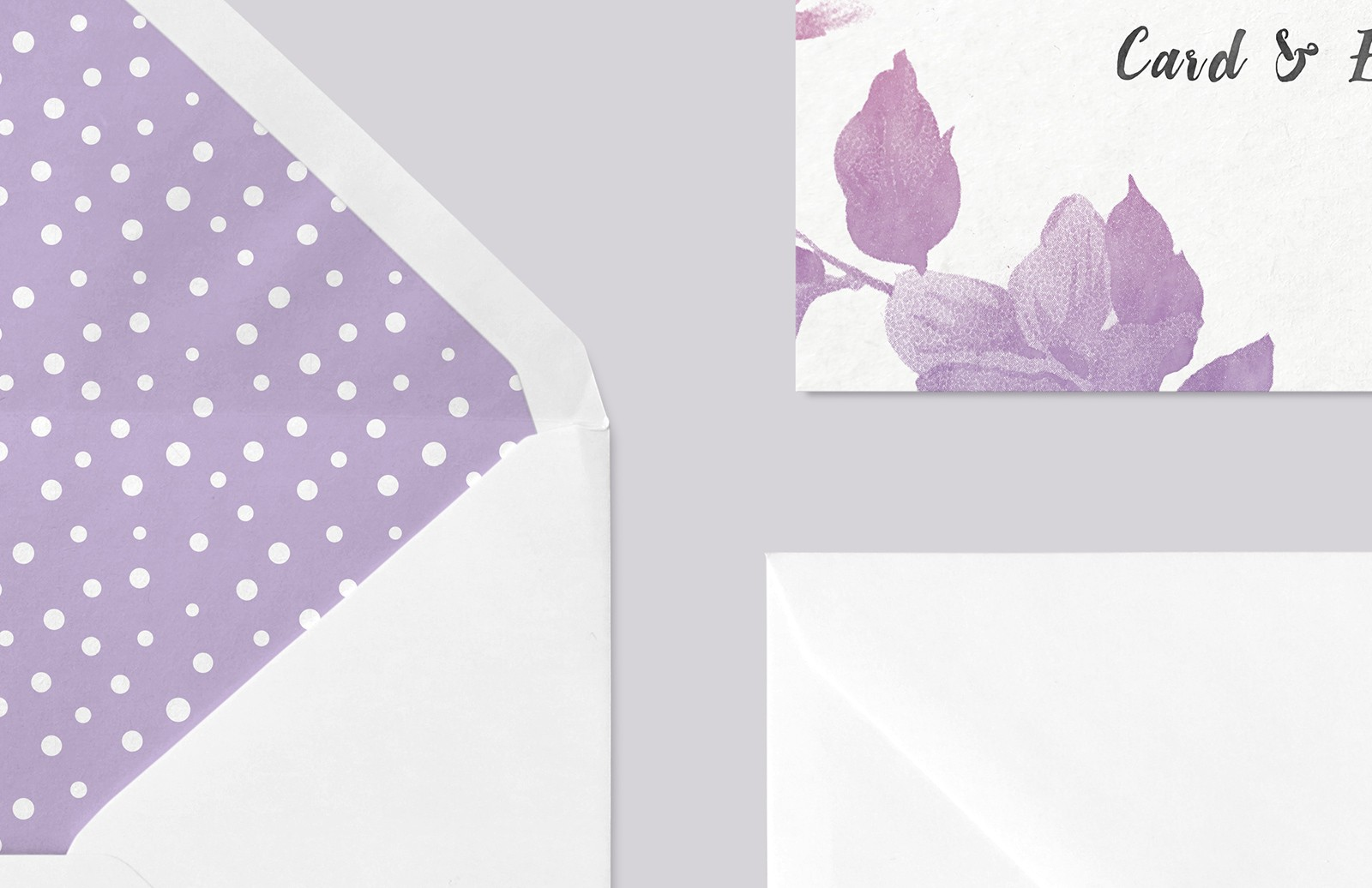 Large Invitation  Card   Envelope  Mockup  Preview 3