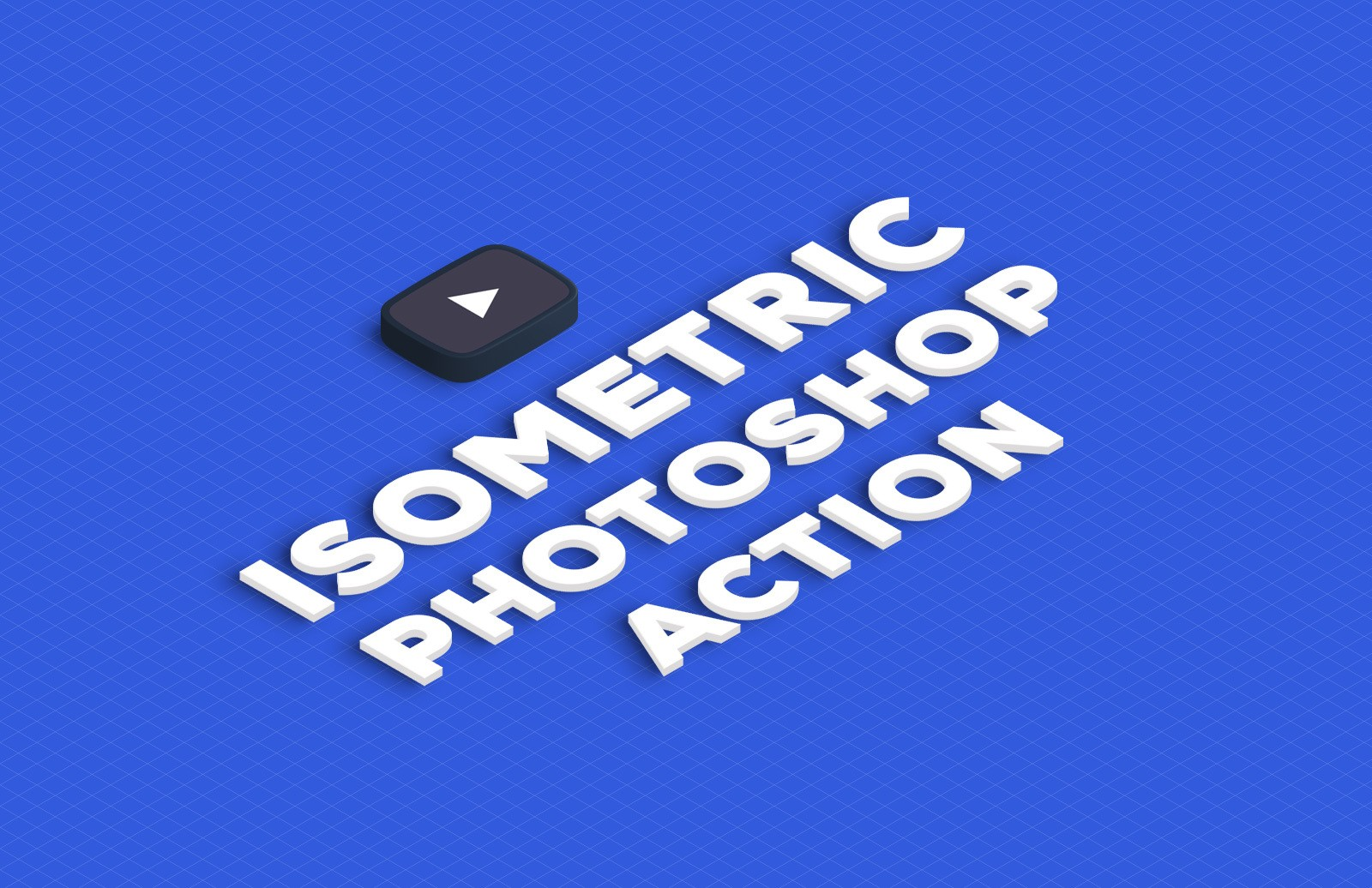 Isometric Photoshop Action Preview 1