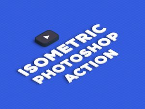 Isometric Photoshop Action 1