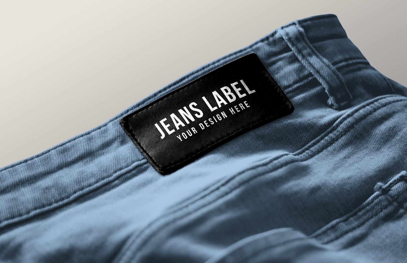 Jeans Label Branding Mockup Preview 1