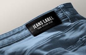 Jeans Label Branding Mockup