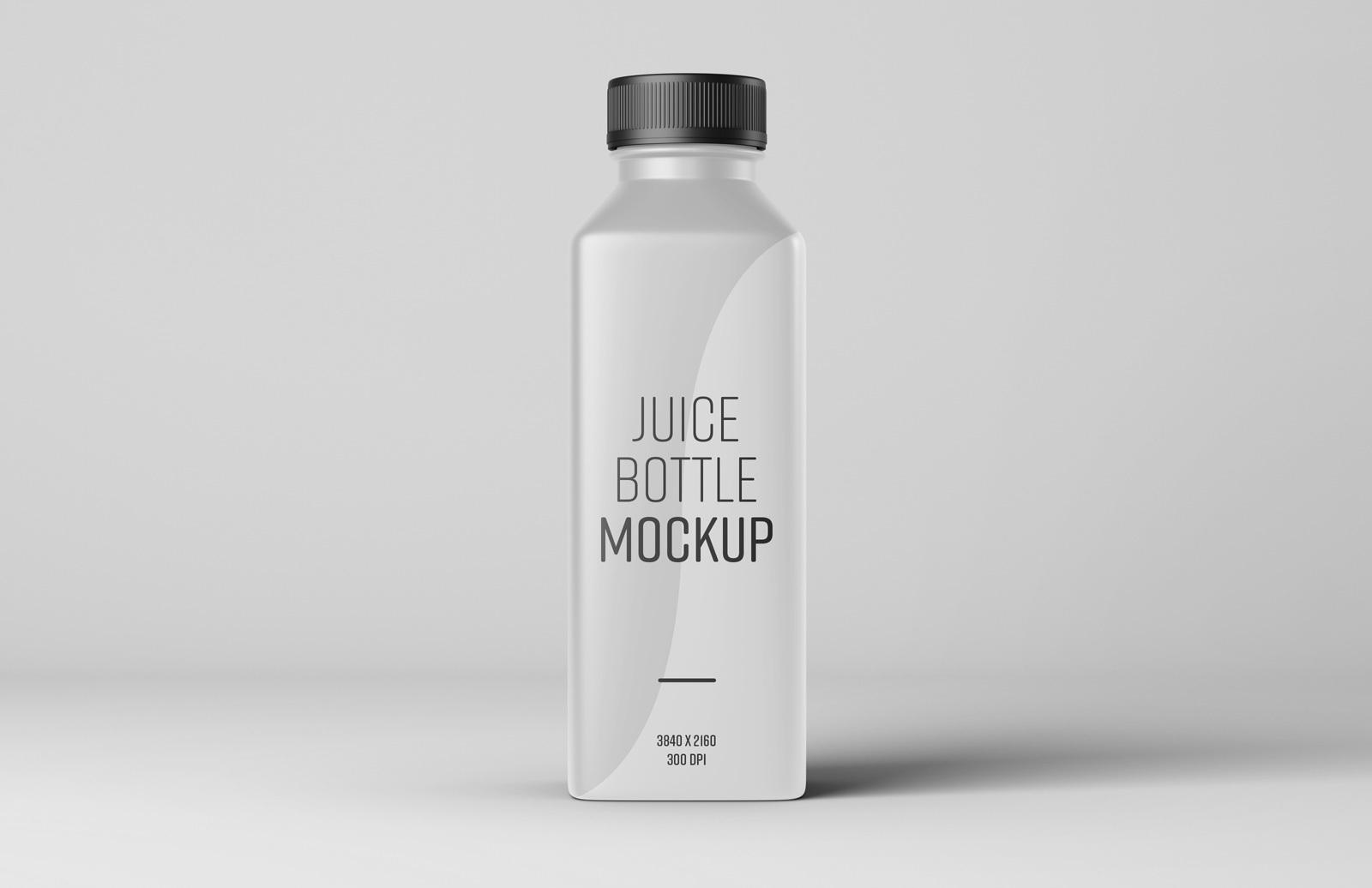 Juice Bottle Mockup Preview 1