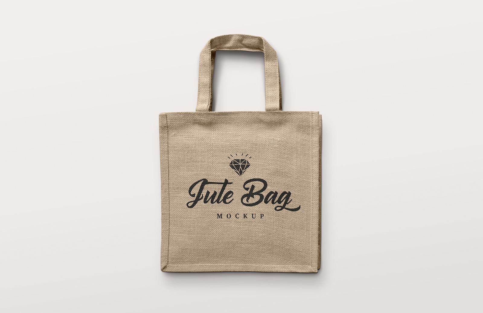 Jute Bag Mockup