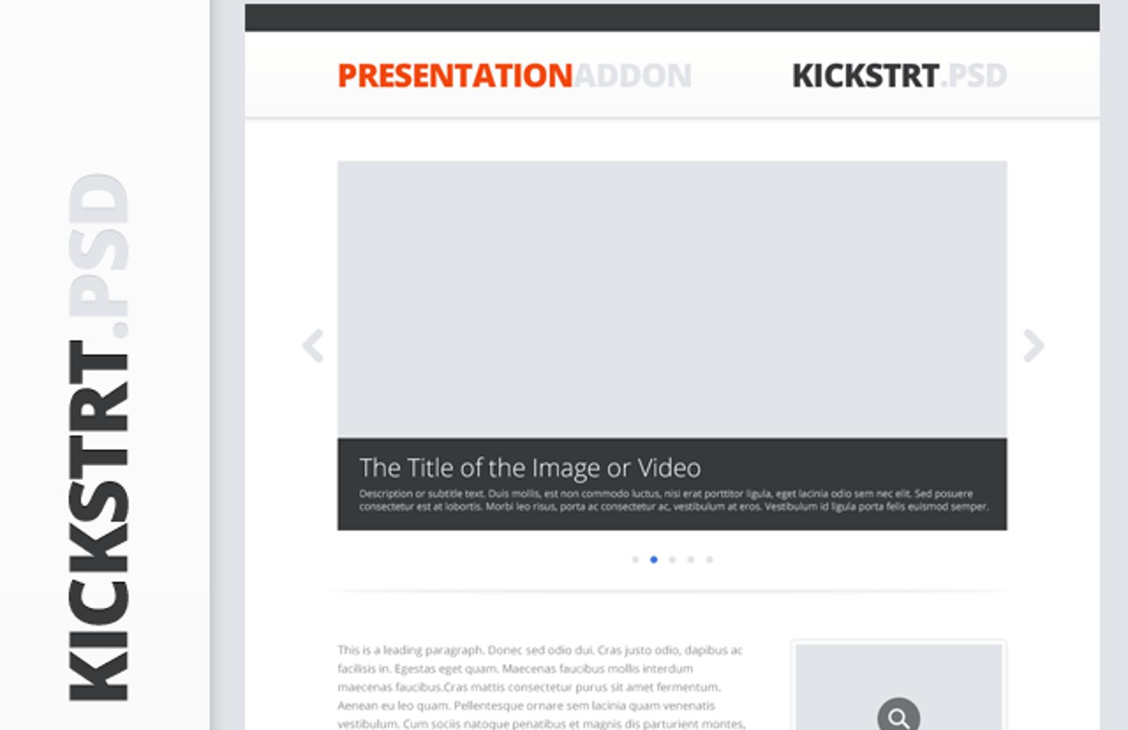 Kickstrt  Presentation  Addon  Preview1