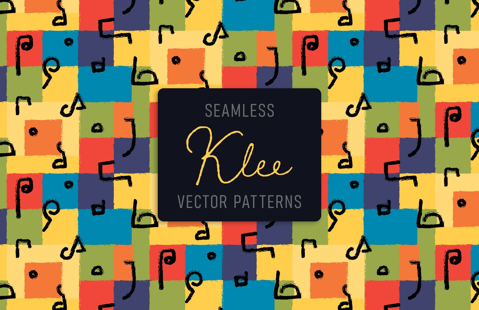 Klee Vector Patterns Preview 1