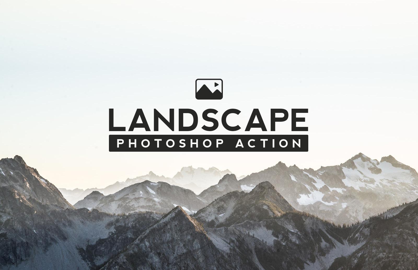 Landscape Photoshop Action Preview 1