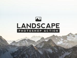 Landscape Photoshop Action 1