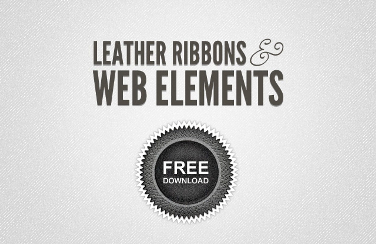 Leather  Ribbons  Web  Elements  Preview12