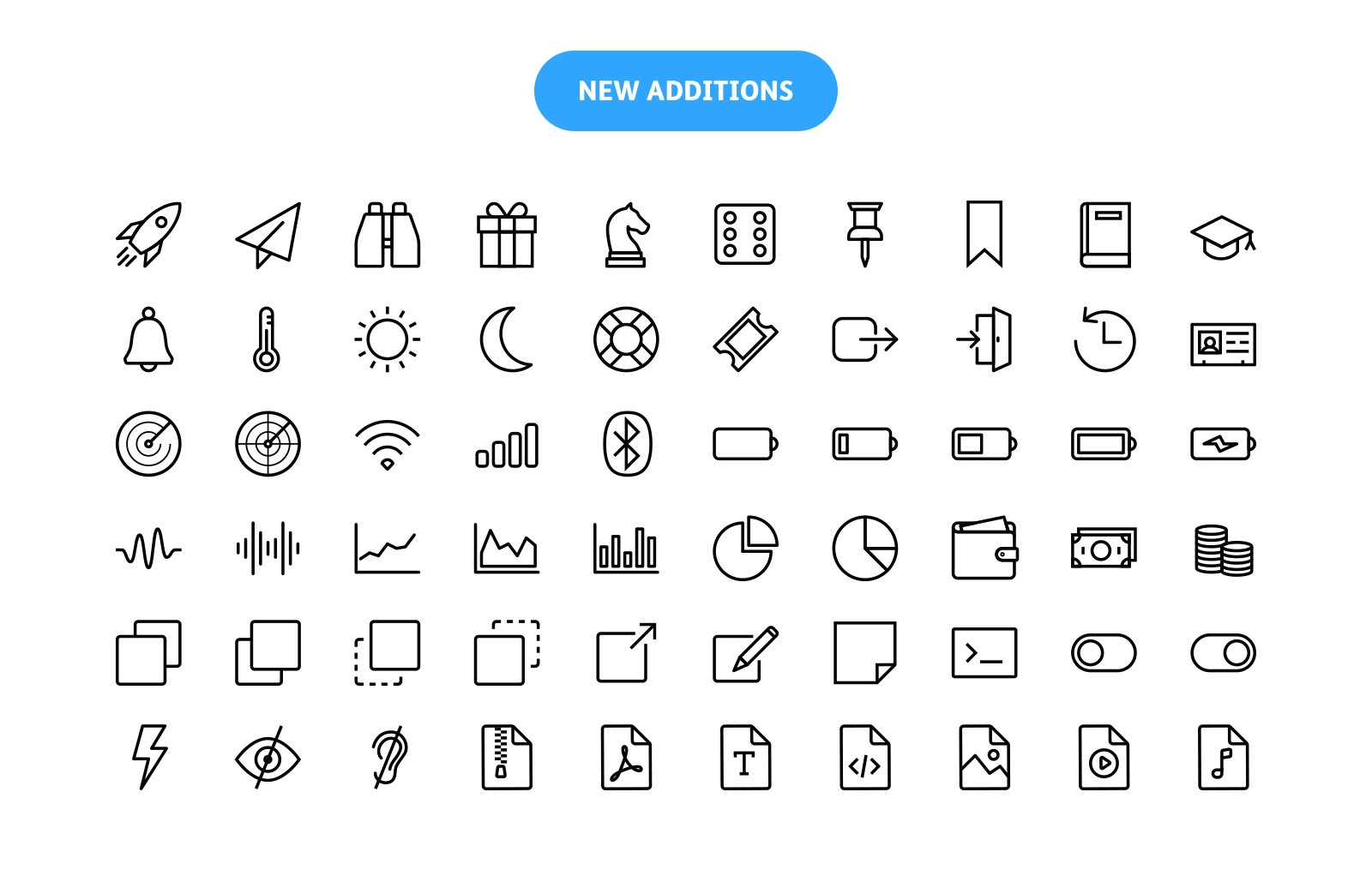 Linia - Vector Line Icons 2