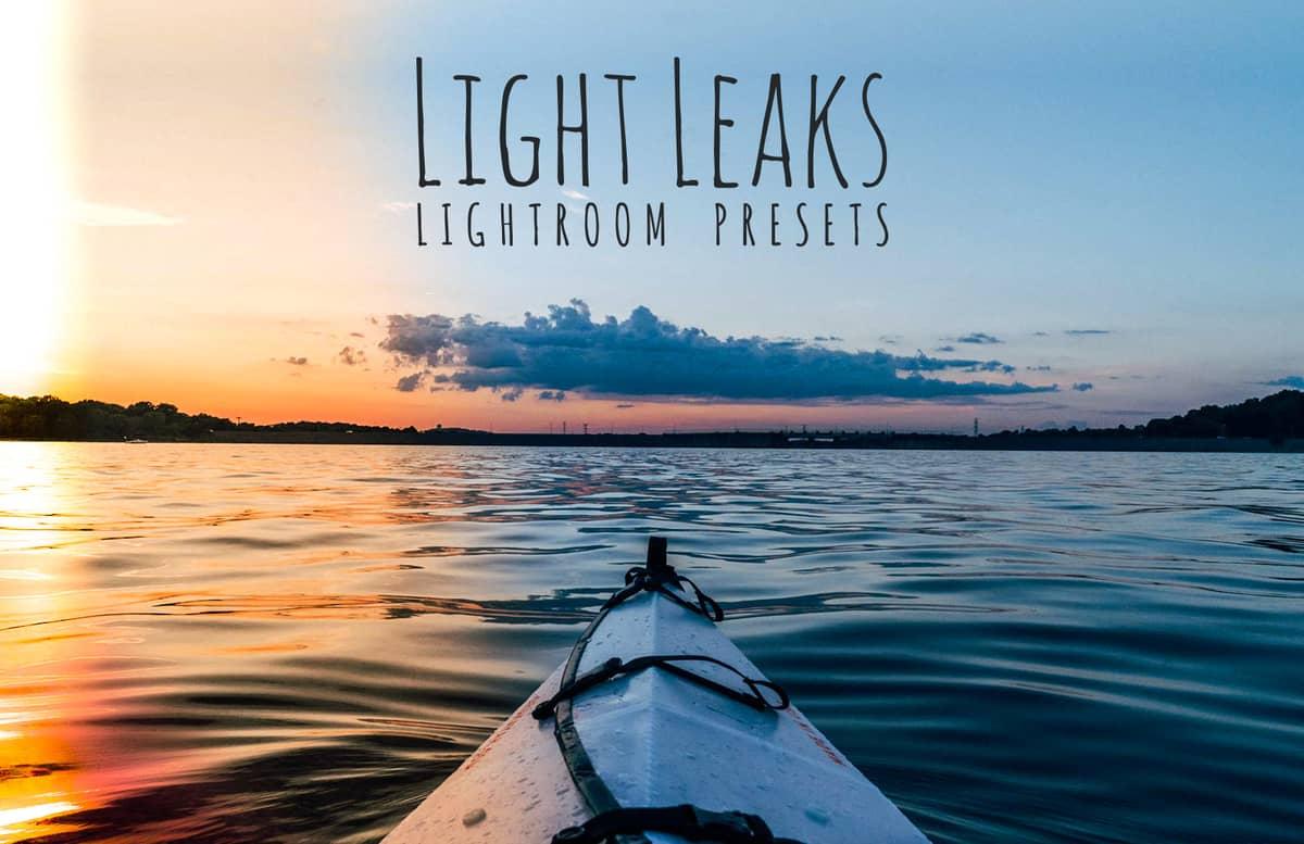 Light Leaks Lightroom Presets Preview 1