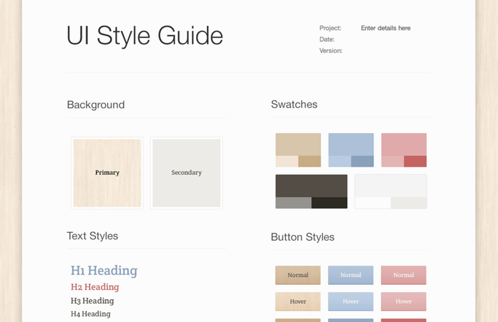 Light  Wood  Ui  Style  Guide 800X518 1