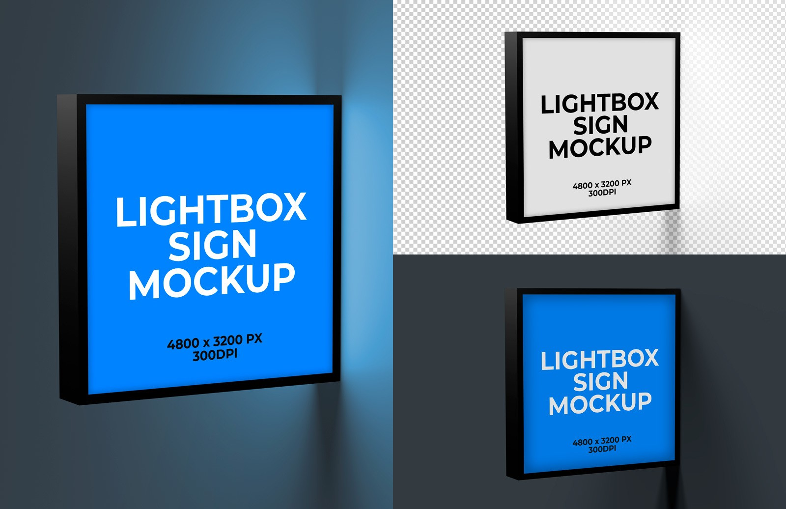 Lightbox Sign Mockup Preview 1