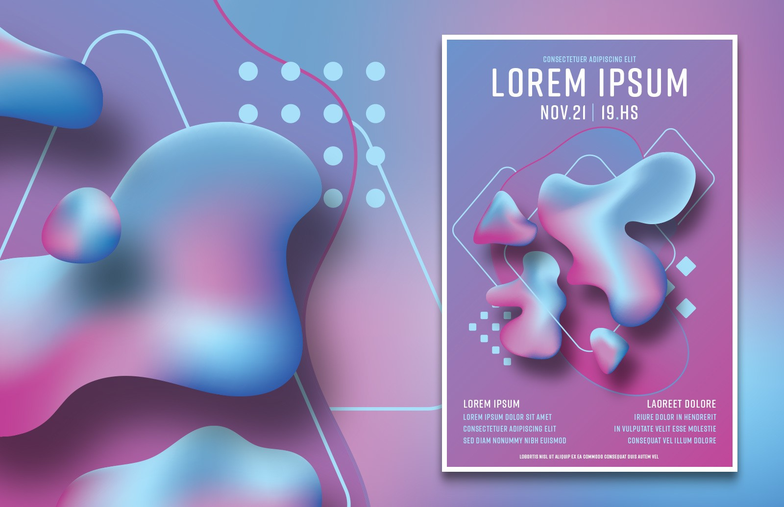 Liquid Gradient Posters Preview 1