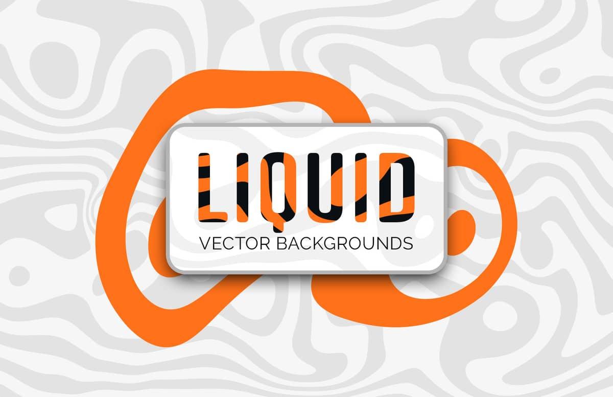 Liquid Vector Backgrounds Preview 1