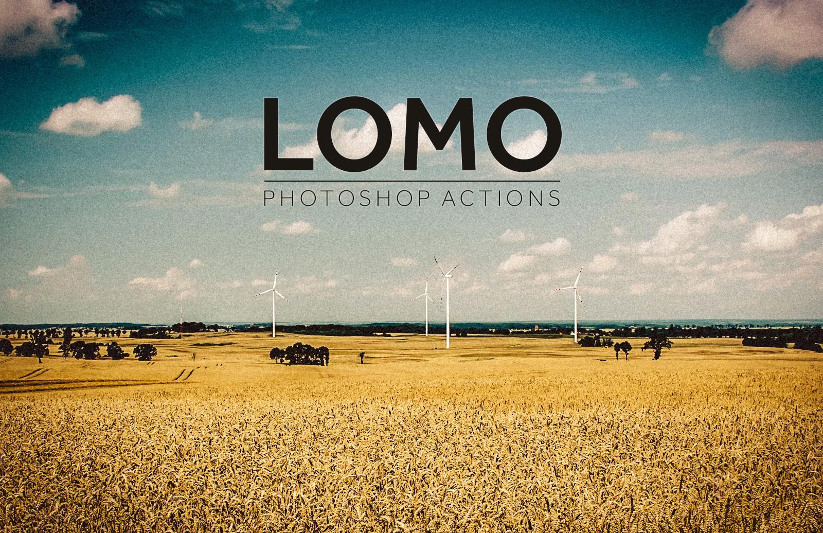 Lomo Photoshop Action 1