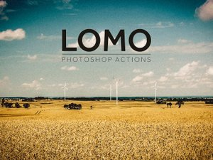 Lomo Photoshop Action 1
