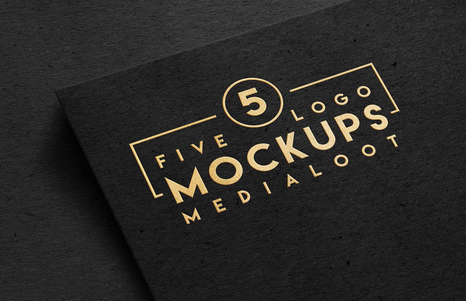 Logo Mockups Preview 1