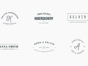 Logo & Branding Type Layouts - Vol 1 2