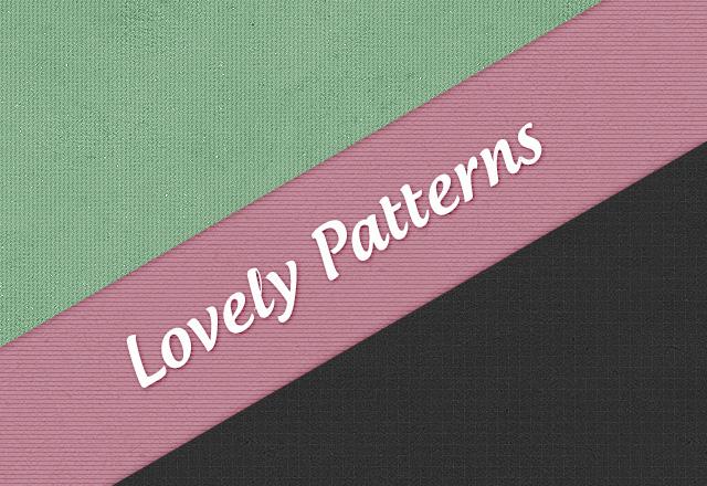 Lovely Patterns Vol1 - Seamless Web Backgrounds