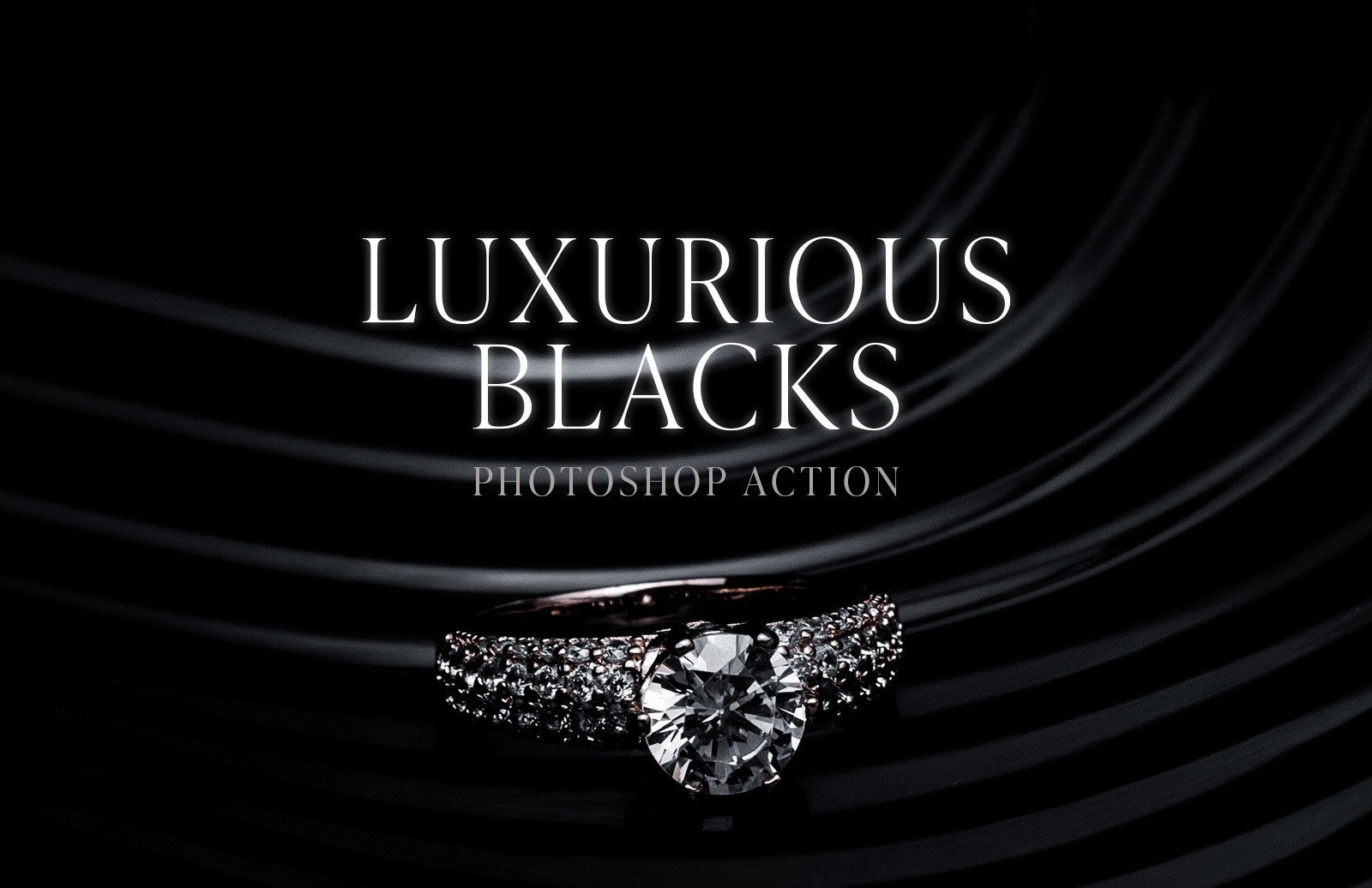Luxurious Blacks Photoshop Action Preview 1