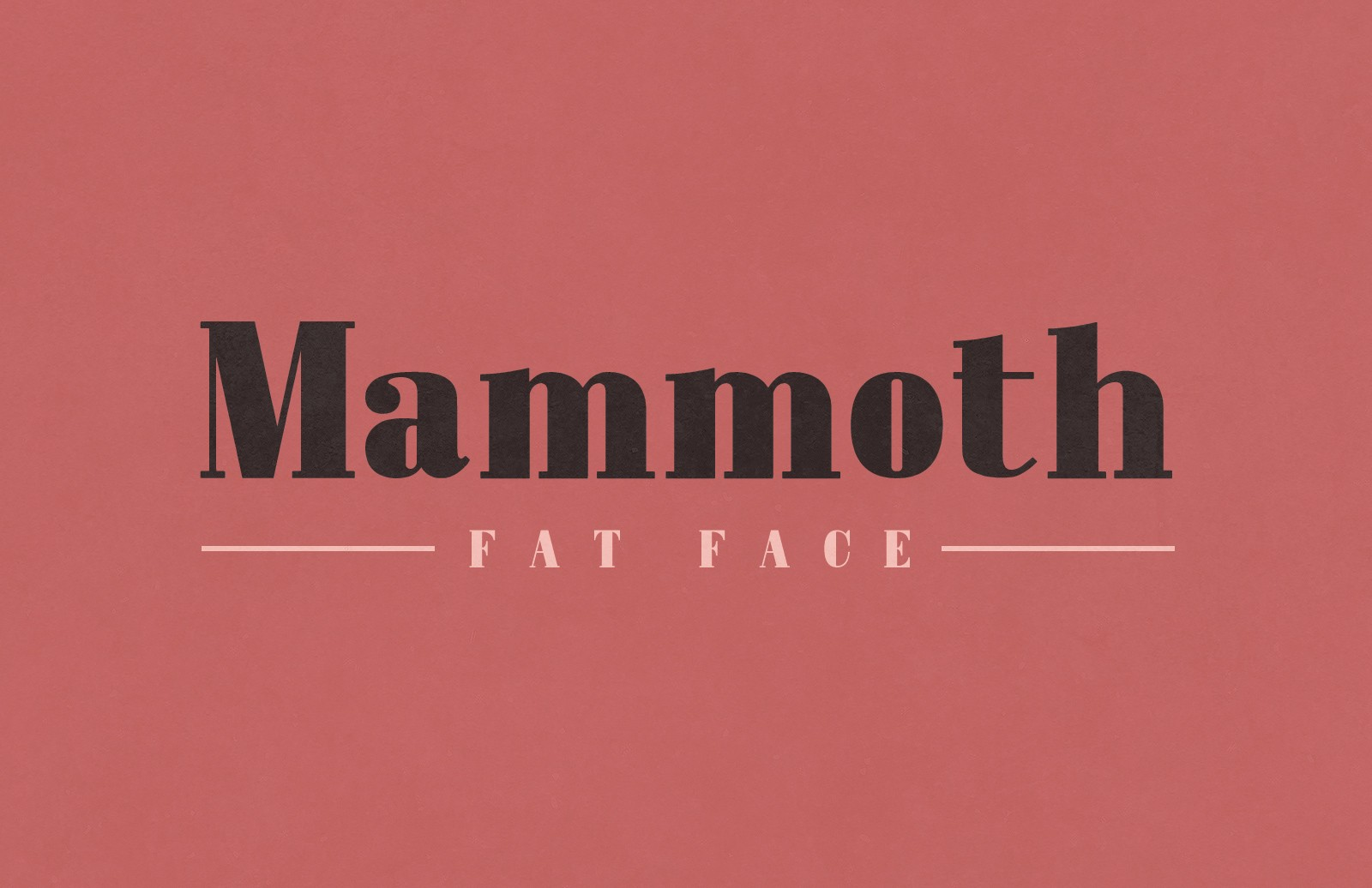 Mammoth  Fat  Face  Preview 1