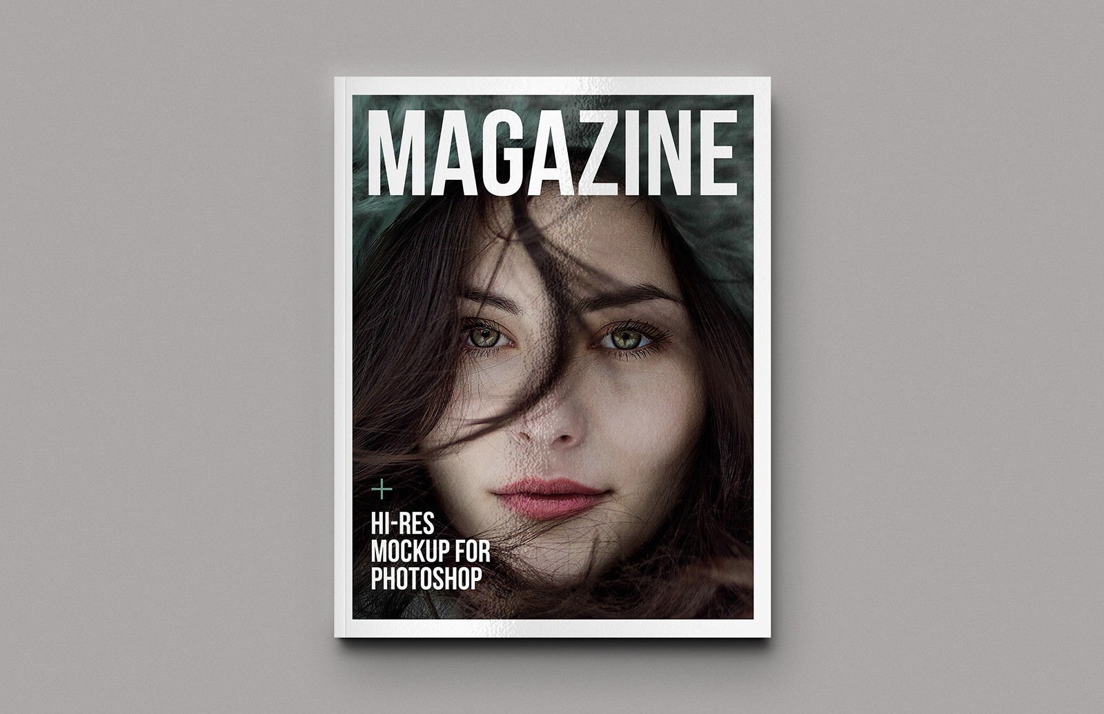 Magazine Mockup Template Preview 1