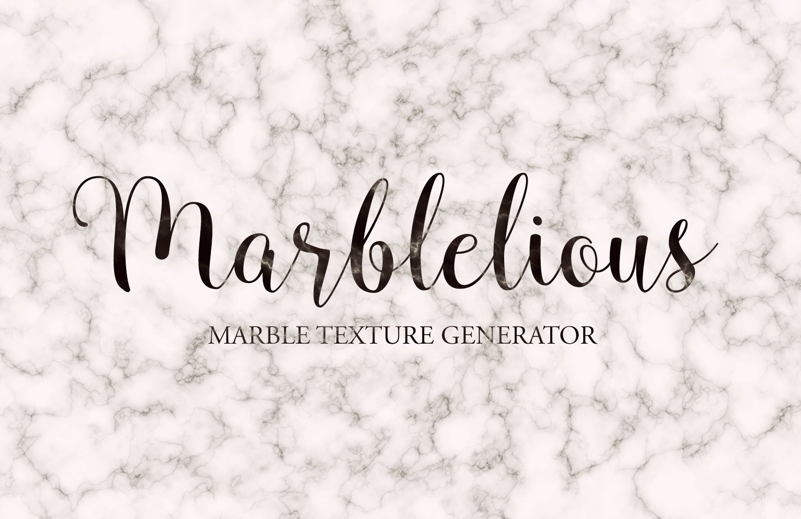 Marblelious Marble Texture Generator