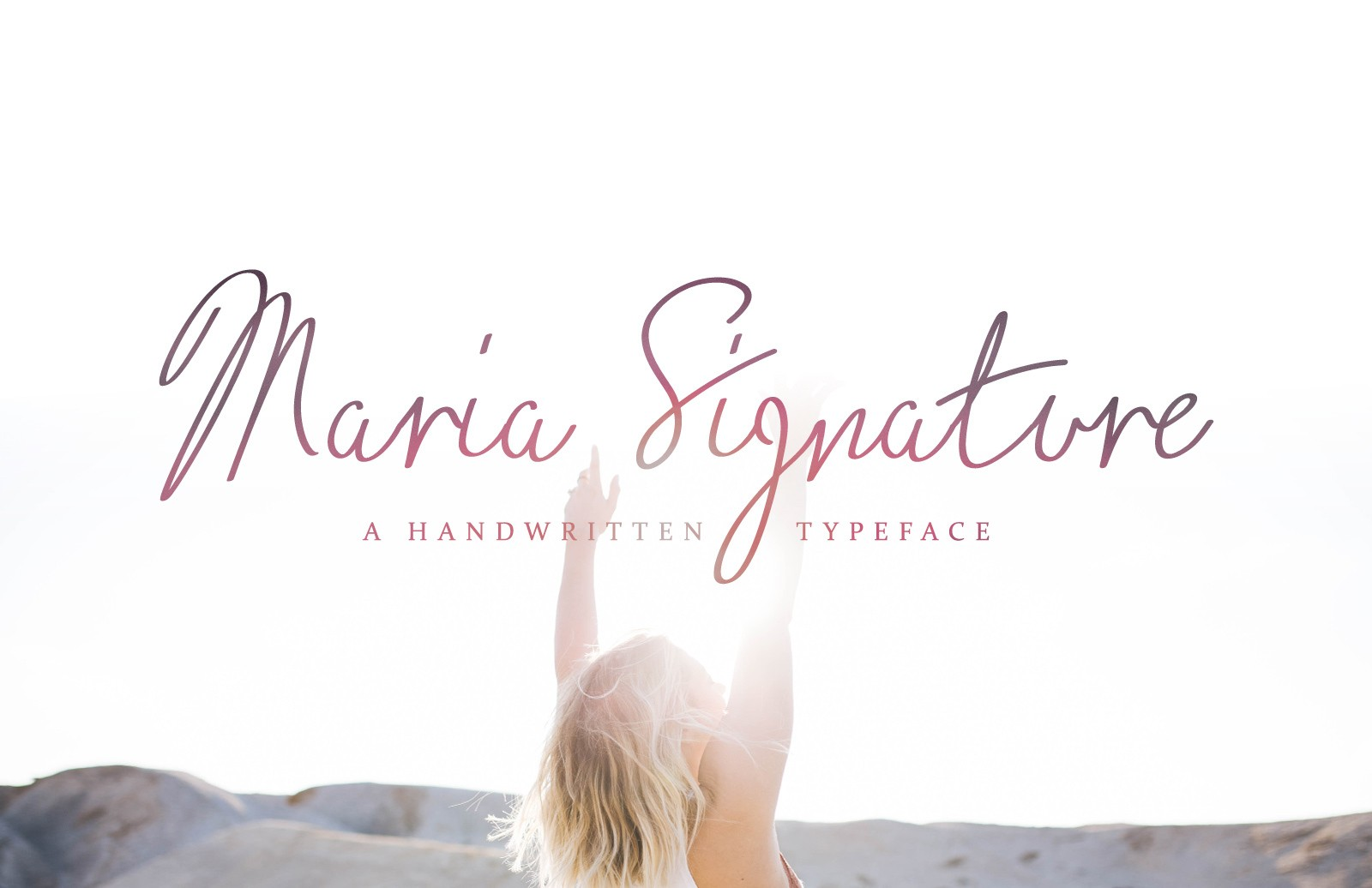 Maria Signature - Handwritten Font