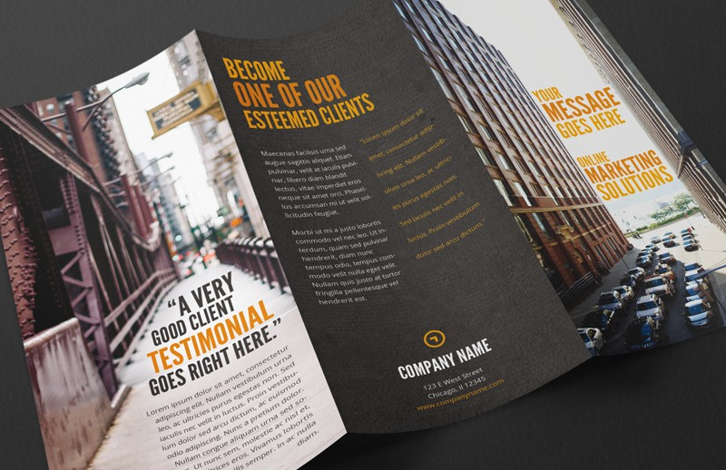 Marketing Tri Fold Brochure
