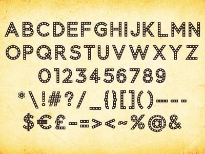 Haunted - Spooky Typeface — Medialoot