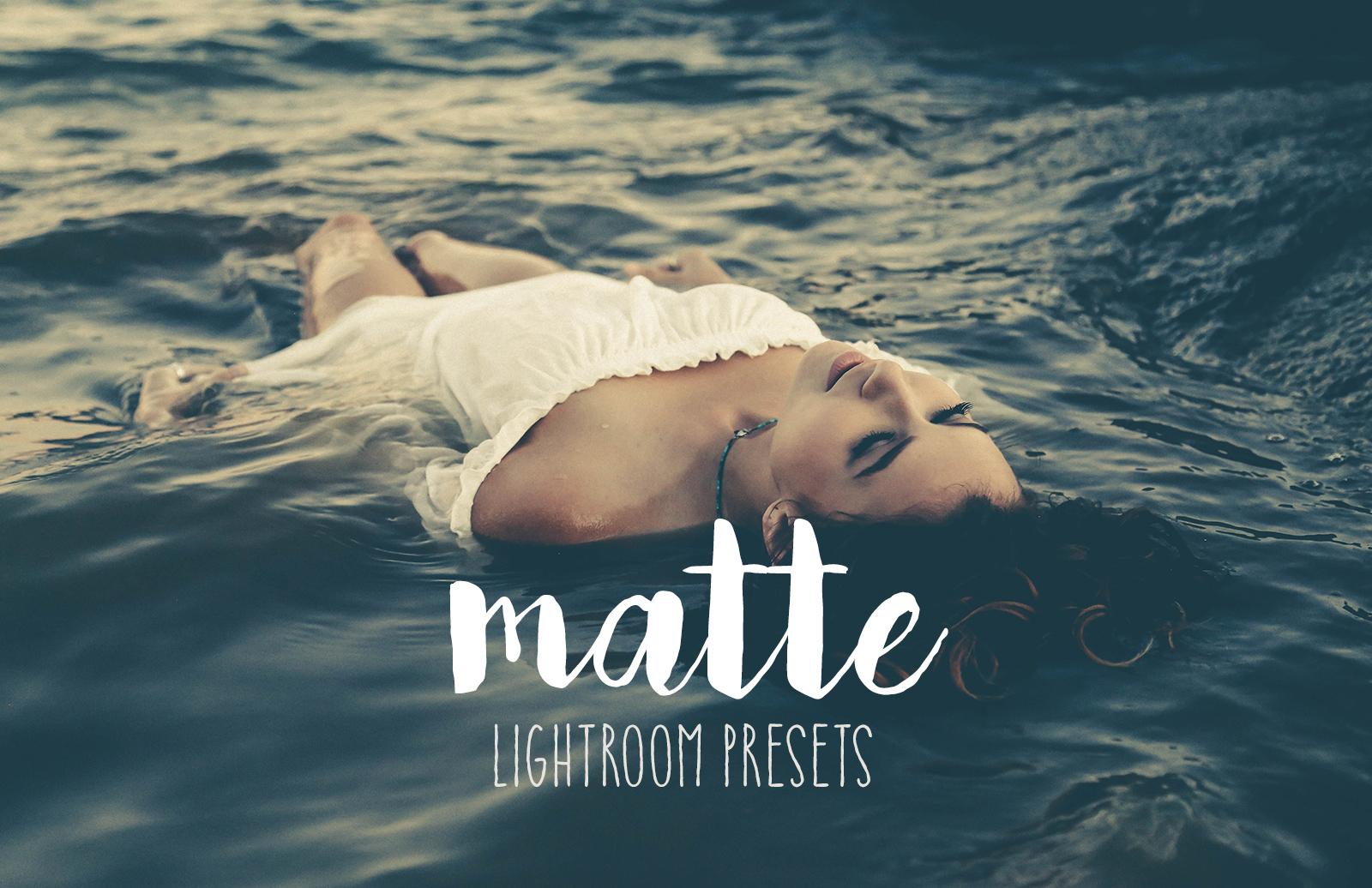 Matte Lightroom Presets 2
