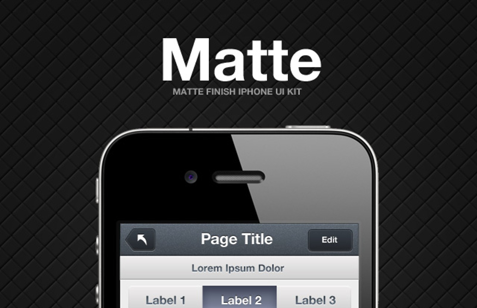 Matte I Phone  Preview1