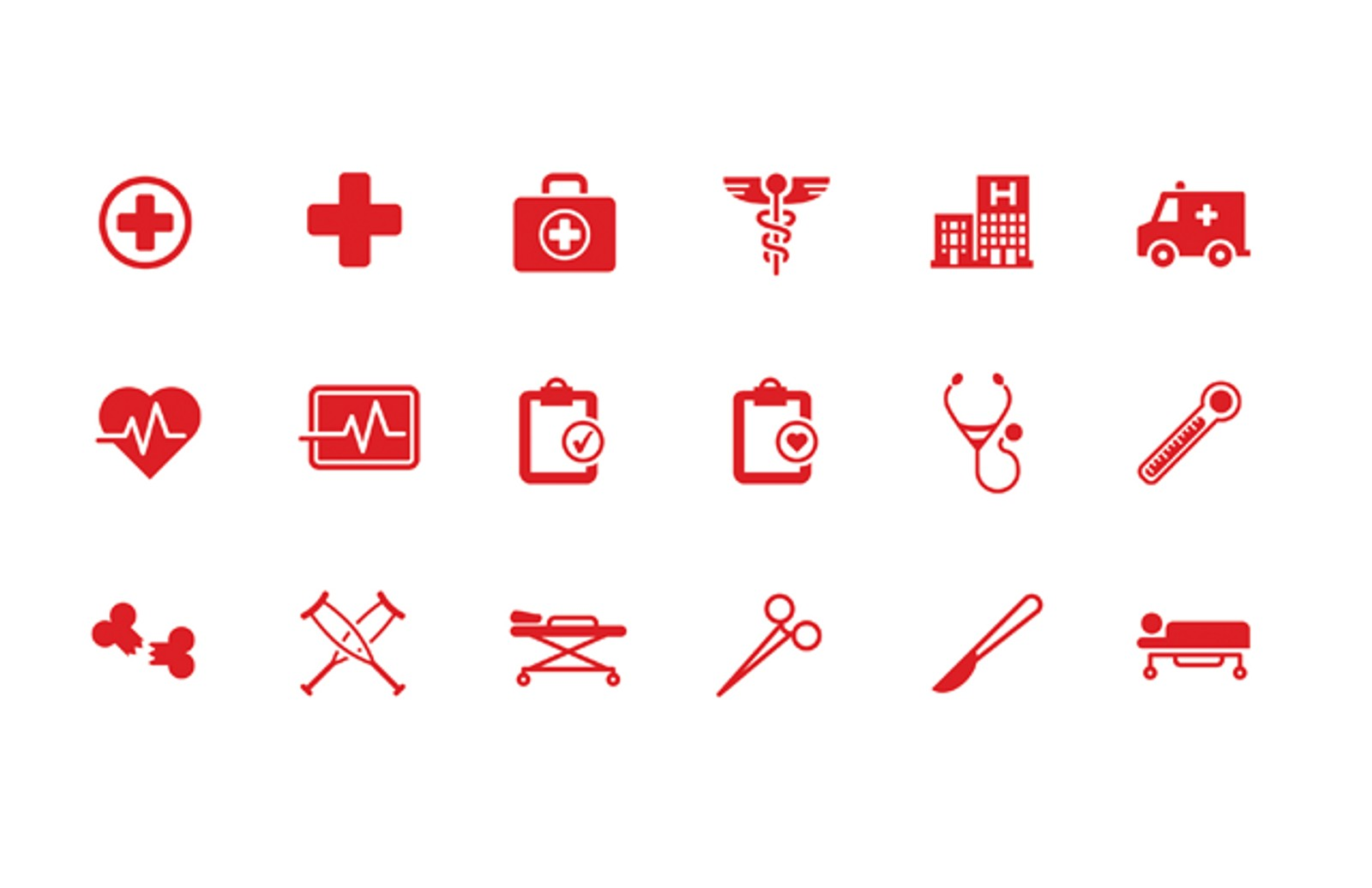 Medical health vector icons medialoot medical health icons preview1 stopboris Images