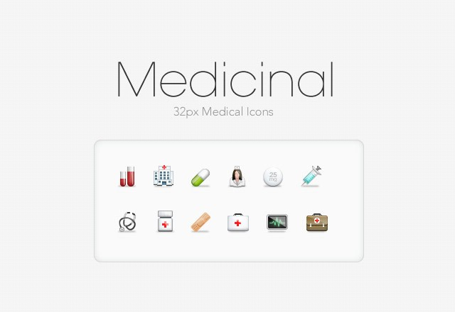 Medicinal: 32px Medical Icons