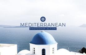 Mediterranean Photoshop Action