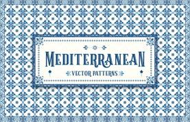 Mediterranean Vector Patterns