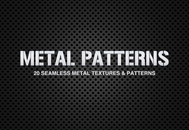 Seamless Metal Patterns