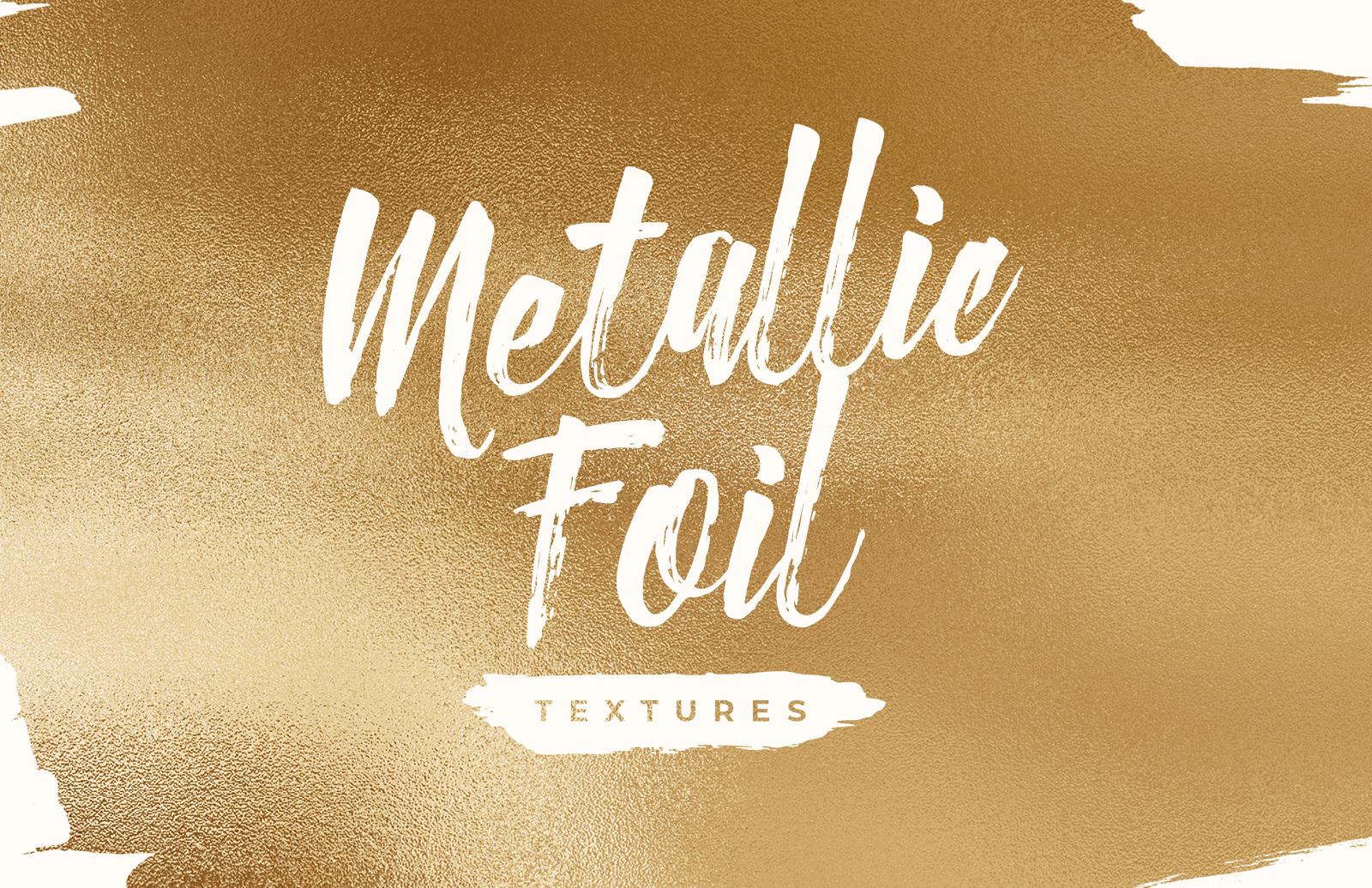 Free Metallic Foil Textures