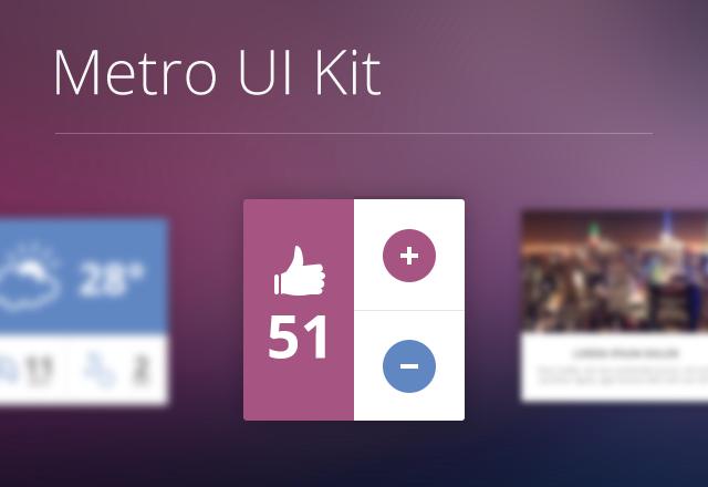 Metro  Ui  Kit  Preview1