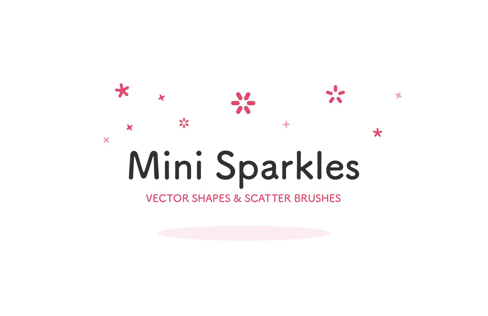 Mini Sparkles - Vector Shapes & Scatter Brushes