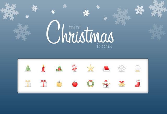 Mini  Christmas  Icons  Preview1