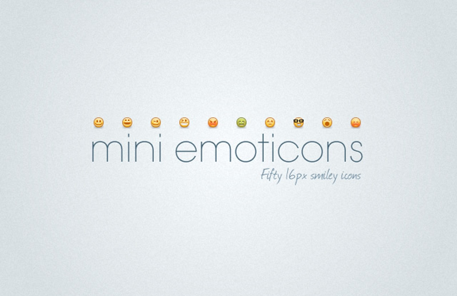 Mini  Emoticons  Preview1