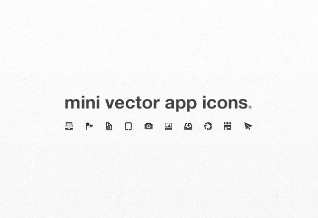 Large Mini  Vector  App  Icons  Preview1