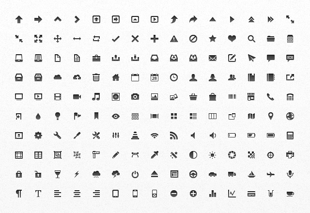 Large Mini  Vector  App  Icons  Preview2